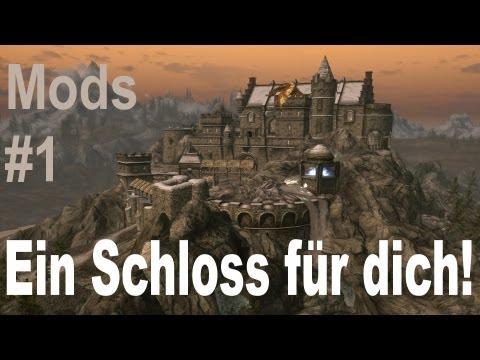 Skyrim Mods - Ein Schloss für dich! [Bluecreek Estate Mod] - Review
