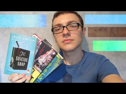 Book Reviews - How To Lead A Life of Crime, Tokyo Heist, The Suicide Shop