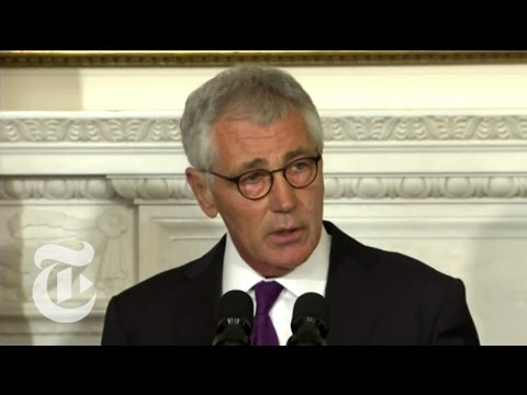 Chuck Hagel Resigning as Defense Secretary | The New York Times