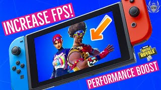 HOW TO BOOST FORTNITE PERFORMANCE ON NINTENDO SWITCH! Improve FPS performance in Fortnite on Switch!