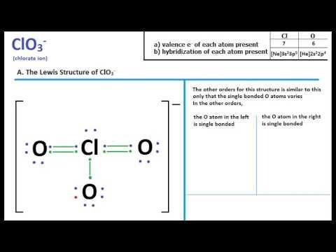 Lewis Structures Shapes Clo3 Lewis Structure