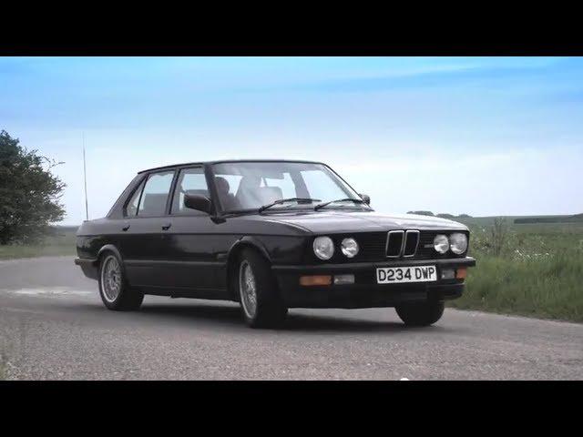 1986 BMW M5 E28: The original super 4-door ... - YouTube