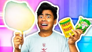 DIY How To Make SOUREST COTTON CANDY EVER!