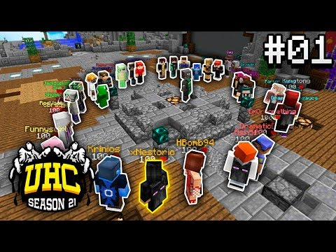 Road to a Cube UHC Victory! - Episode 1 (Minecraft: Season Cursed)