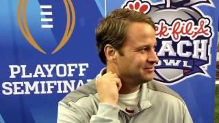 Lane Kiffin was asked if working at Alabama was fun 