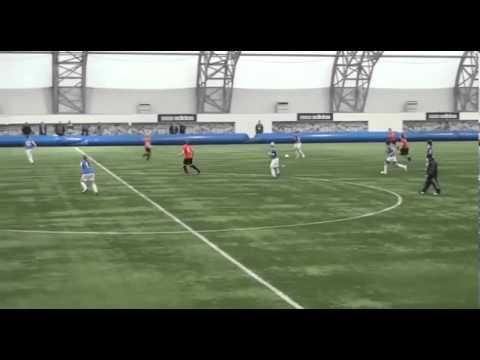 Philippa Burge soccer showcase 2013