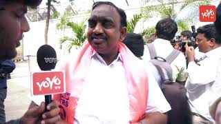 TRS Leader MLA Vodithala Satish Kumar About his Victory |CM KCR