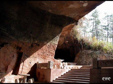 Загадка древних пещер Хуашань обнаруженных недавно в Китае.