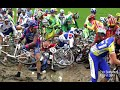 Paris Roubaix 2014 + Crashes & Velodrome Finish