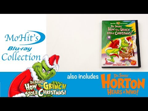 How The Grinch Stole Christmas DVD Unboxing