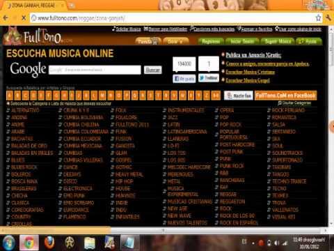 Escuchar musica en linea (gratis!!)