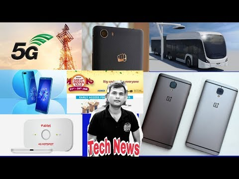 Tech News #98, Technical Guruji copy, Amazon Great Indian Sale, Mi A1 Oreo Update Suspended, 5G