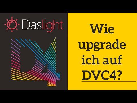 Wie upgrade ich auf DVC4 ? | Daslight 4 DVC4 Videotutorial