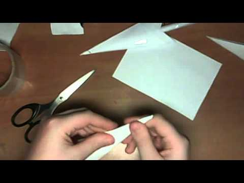 Как сделать из бумаги кинжал