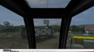 Crane Simulator 2009 - best gameplay (PC)