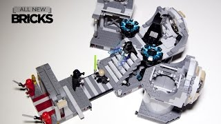 Lego Star Wars 75093 Death Star Final Duel Speed Build