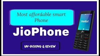 JIO PHONE UNBOXING & REVIEW - RS 1500/- by Technical Devil