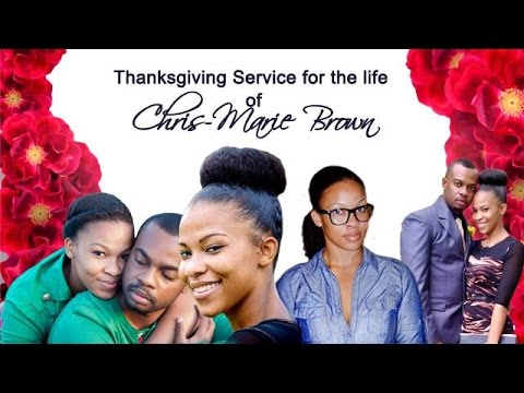 23 April, 2016 - Thanksgiving Service - Cris-Marie Brown