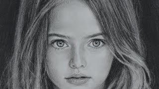 Kristina Pimenova - speed drawing portrait