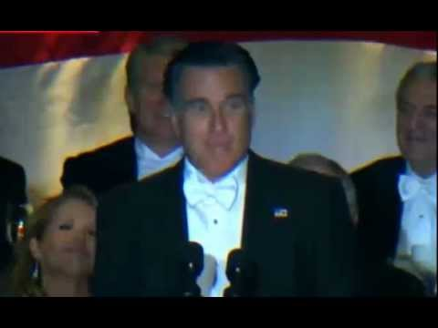 Mitt Romney Jokes and One Liners at Al Smith dinner with President Barack Obama