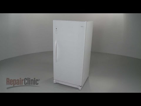 Frigidaire Upright Freezer Disassembly