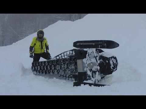 Снегоходы в горах Сочи 2-серия. Ski-doo тест и тренировка.