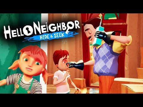 WE GET TO PLAY AS THE NEIGHBOR'S CHILDREN?! *NEW* HELLO NEIGHBOR GAME! | Hello Neighbor Hide & Seek