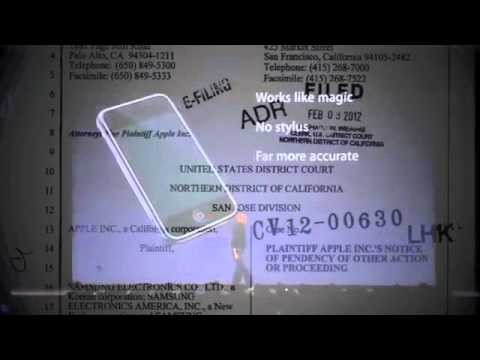 Apple Vs Samsung -Jobs on iPhone Patent - Steve - lawsuit