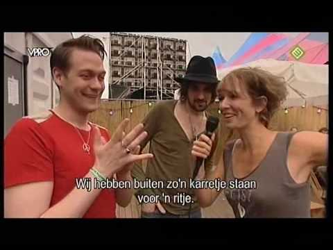 Kasabian Interview at Lowlands Festival 2009 - Tom Meighan and Serge Pizzorno