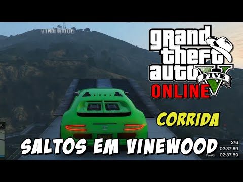 GTA 5 Online - Corrida Epic Stunting V4: Super Saltos em Vinewood