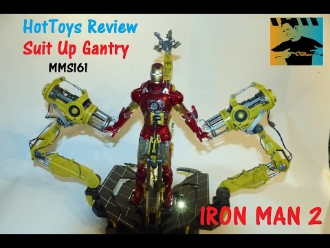 HOT TOYS Review SUIT UP GANTRY Iron Man 2   GERMAN-Deutsch
