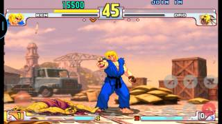 Street fighter the 3rd strike con sixaxis