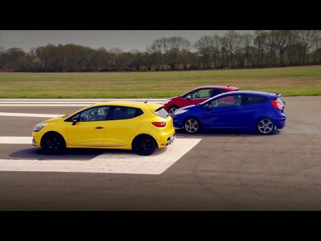 Peugeot 208 GTi vs Renault Clio 200 Vs Ford Fiesta ST ...