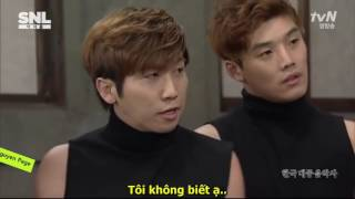 HÀI HÀN XẺNG] -SNL Hàn Xẻng - Nhóm nhảy siêu việt - Vietsub - Hài Bựa 2017