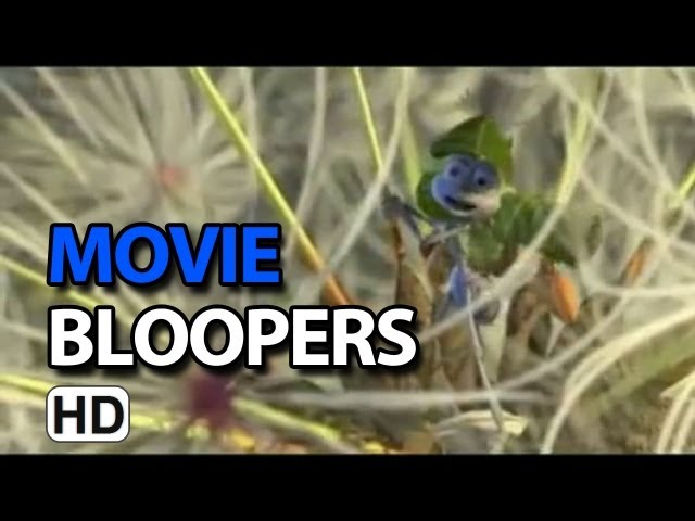 A Bug's Life (1998) Bloopers Mix