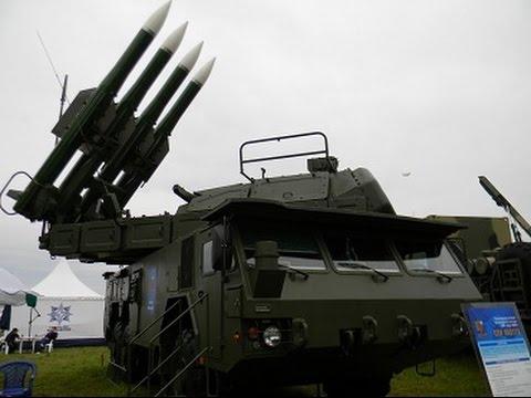 Зенитно-ракетные комплексы Бук-М2 и Бук-М3 получили сухопутные войска
