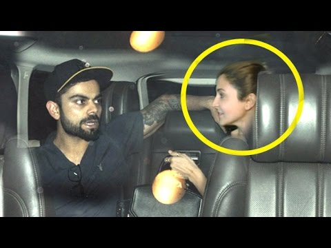 Too CUTE! Virat Kohli Drops Anushka Sharma At Airport