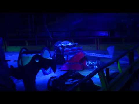 Robot Wars Winter Tour 2013 – Thor vs Behemoth vs Toon Raider vs Saint
