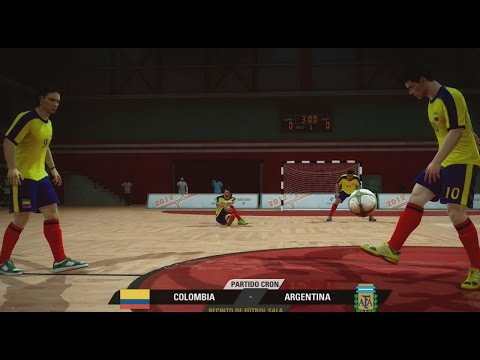 Fifa Street Gameplay Xbox 360 - Colombia Vs Argentina, el sorprendente GOL de Falcao
