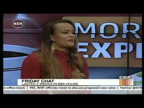 Kenyan Representative At Big Brother Africa Left A Six Month Old Baby At Home video