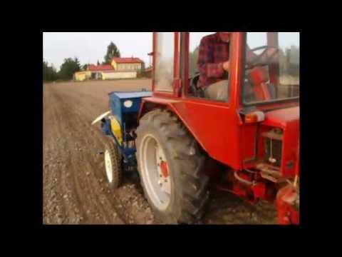Uprawa i Siew pszenicy T25 agregat oraz siewnik 2m