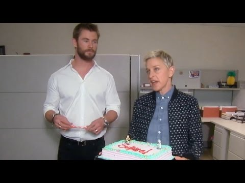 Chris Hemsworth Shows Ellen DeGeneres Why He's the Ultimate Guy's Guy