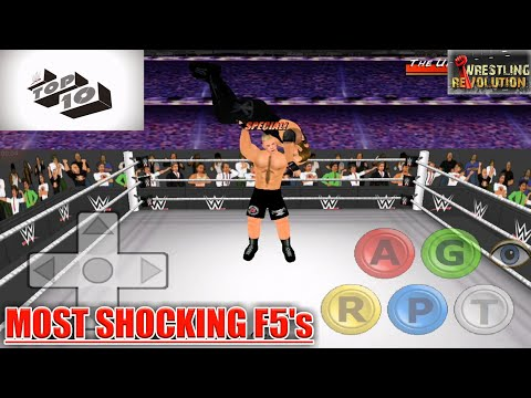 Brock Lesnar's Most Shocking F5's : Top 10 | WR3D thumbnail