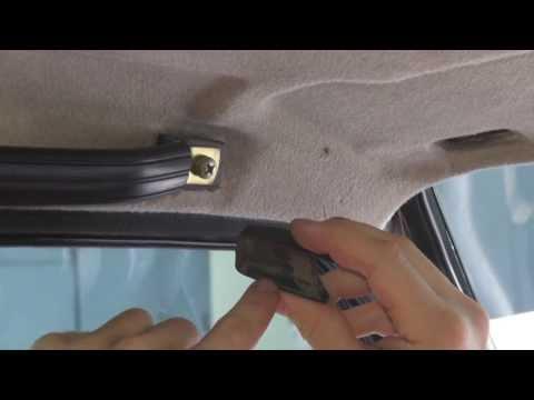 Видео как снять обшивку потолка