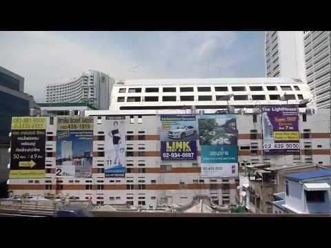 Bangkok BTS Skytrain #4 รถไฟฟ้า สะพานตากสิน-กรุงธนบุรี