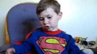 Superman recites Alfred, Lord Tennyson's