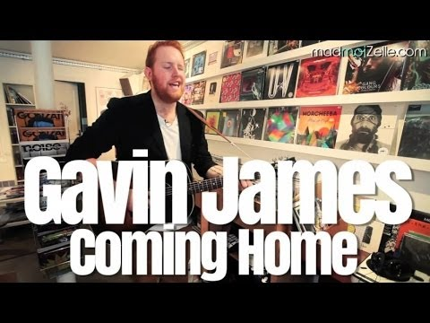 Gavin James - Coming Home - session acoustique madmoiZelle.com