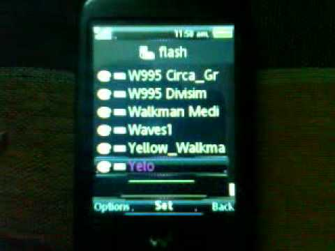 Sony Ericsson Flash Lite 3.0 Themes & Wallpapers