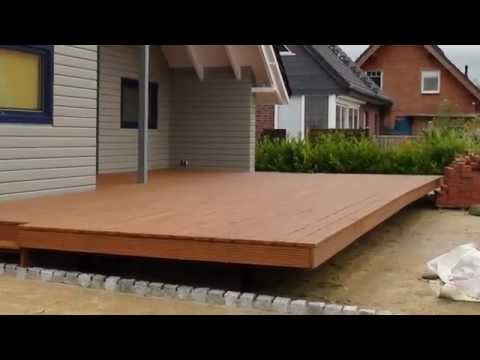 Schwebende Lärchen - Holzterrasse Selber Bauen - Ausführliche Baudokumentation