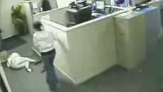 Nasty Cubicle Fall